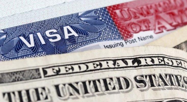 консульский сбор на визу США