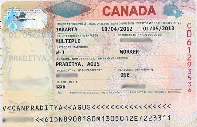 Канадская рабочая виза