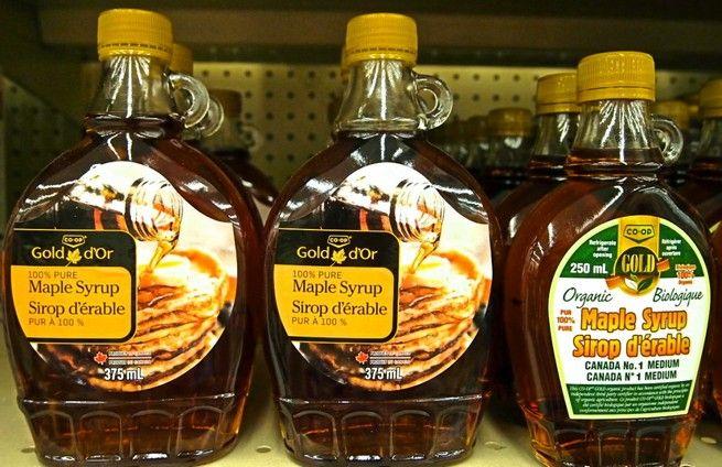 кленовый сироп из Канады