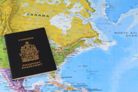 канадский паспорт, иммиграция в Канаду